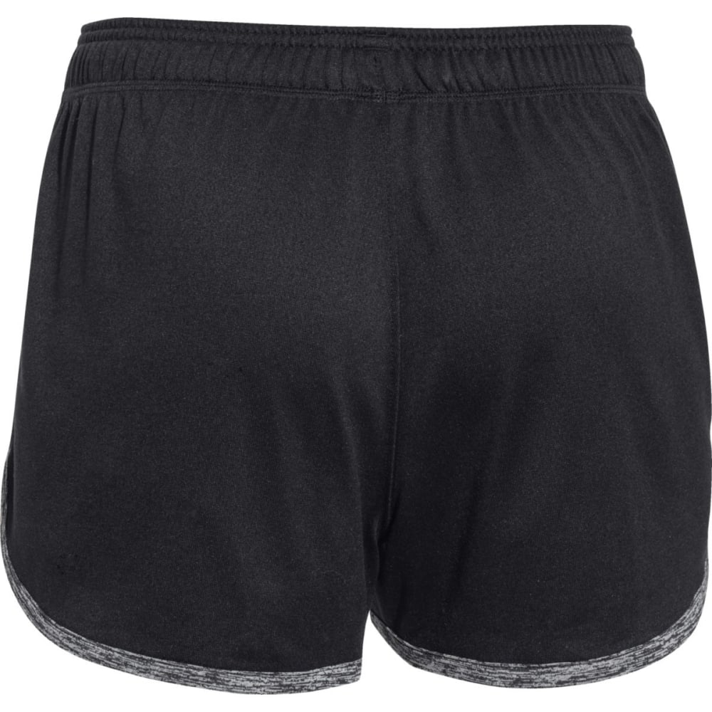 UNDER ARMOUR Women's Tech Shorts - BLACK-001