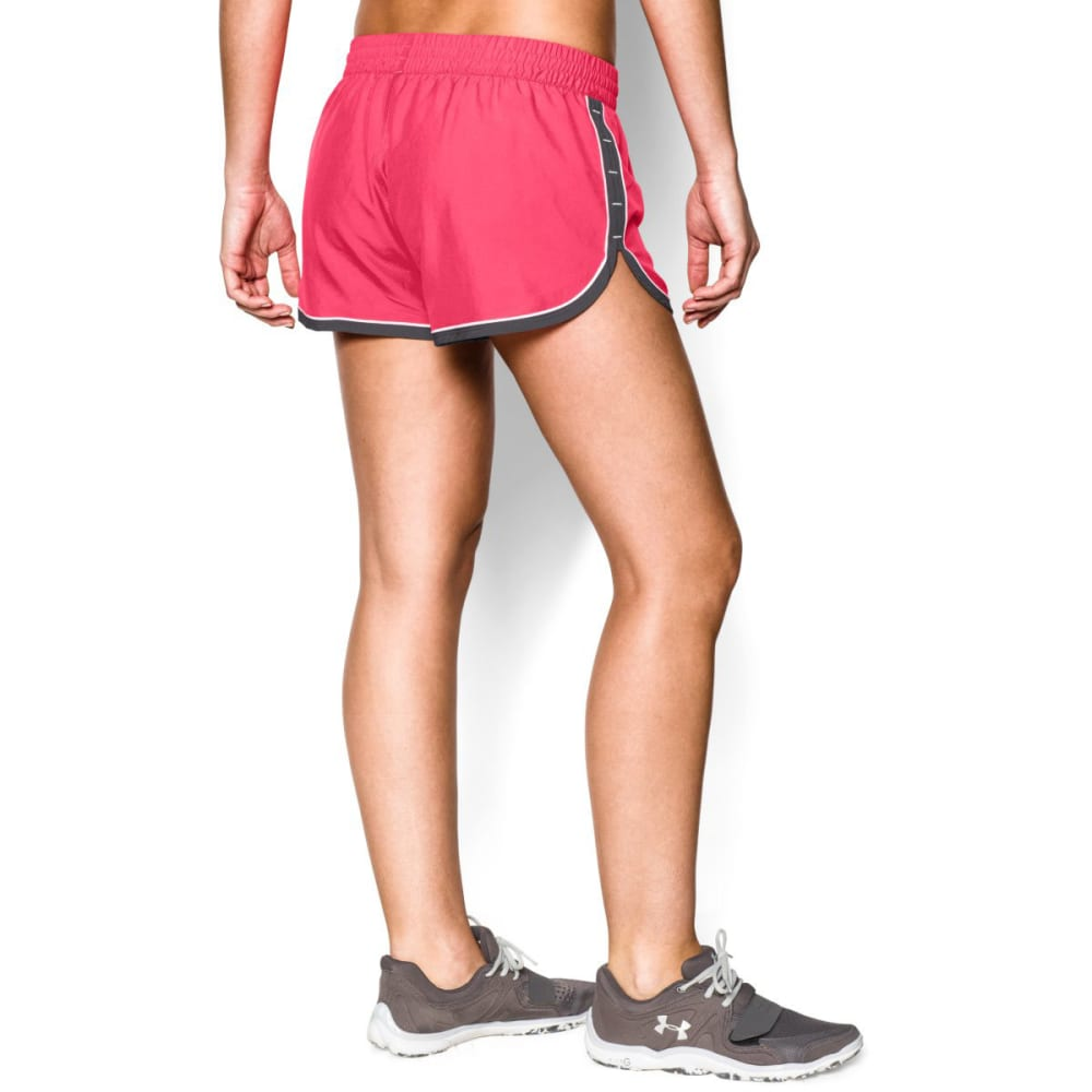 UNDER ARMOUR Women's Great Escape Shorts ll - PINK SHOCK