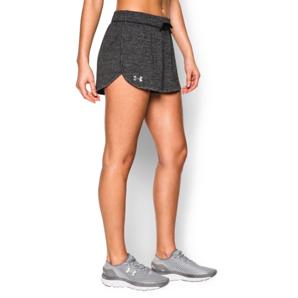 UNDER ARMOUR Women's Twist Tech Shorts - BLACK-001
