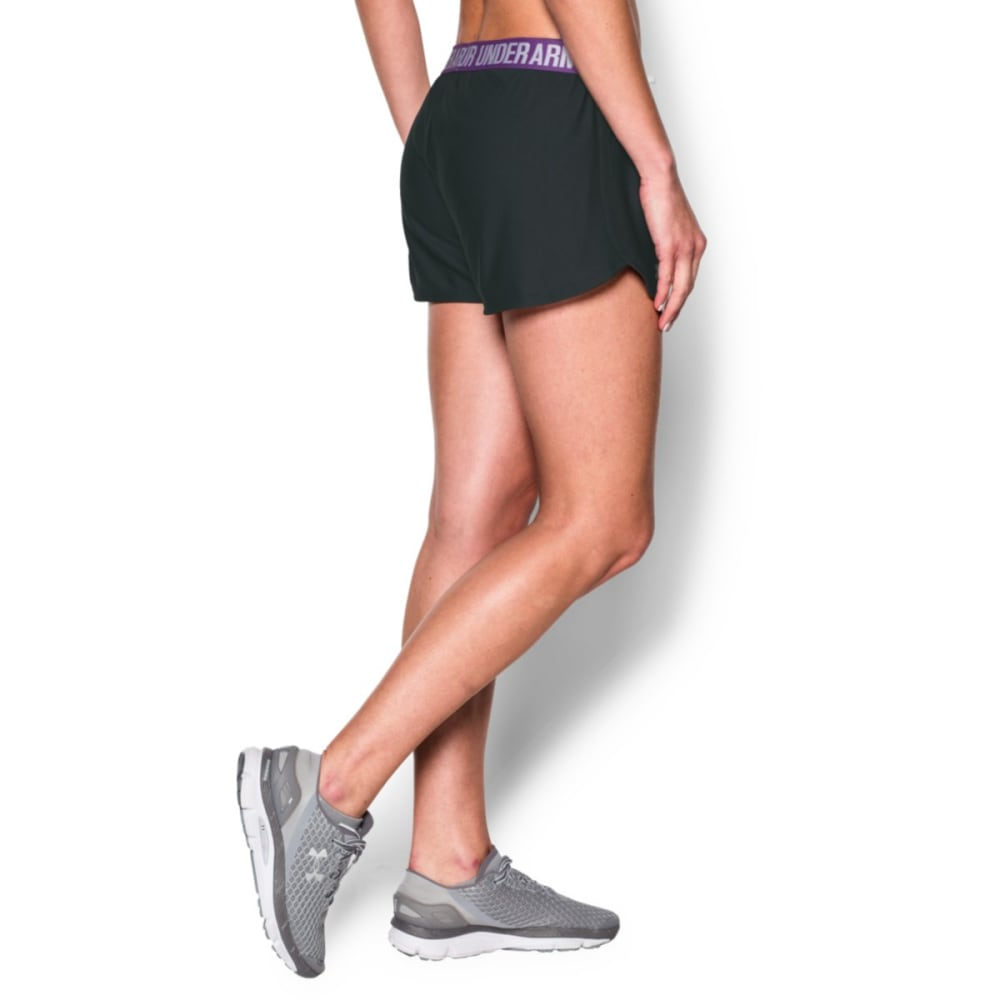 UNDER ARMOUR Women's Play Up Shorts - ANTHR/MEGAMAGEN-017