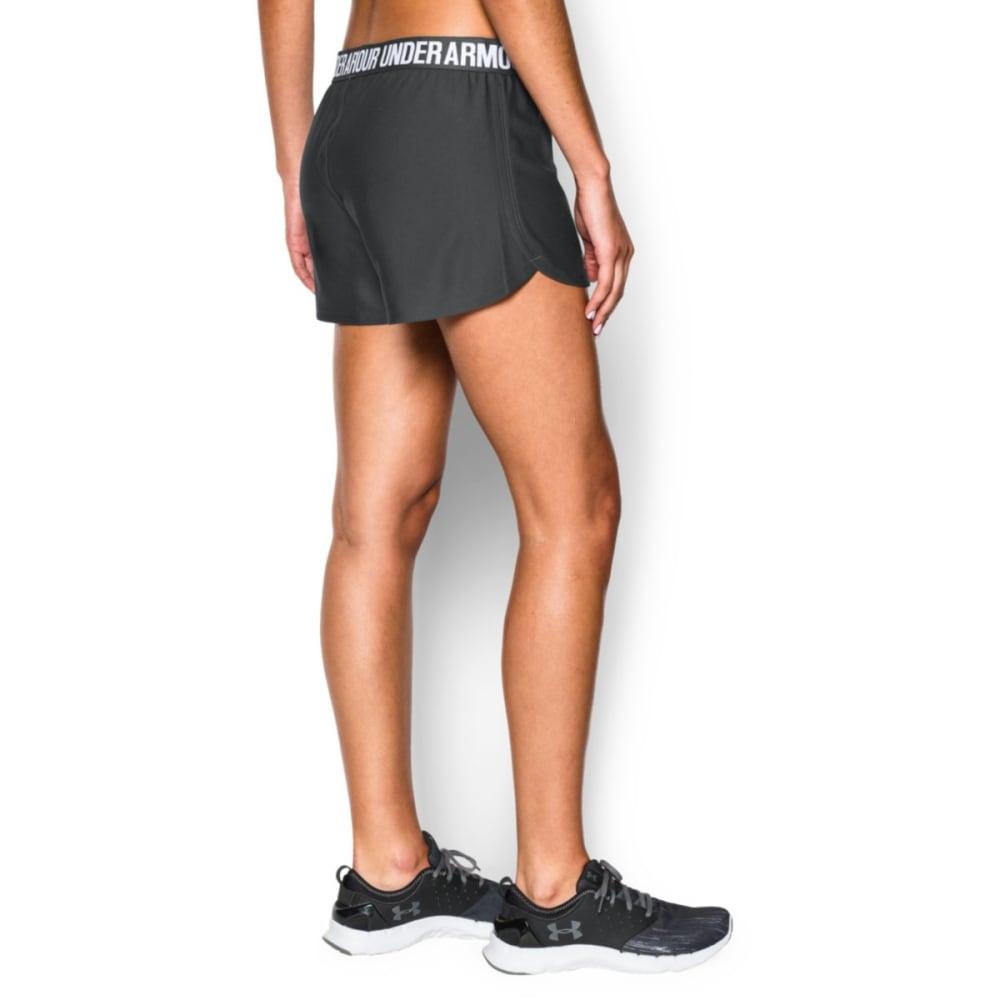 UNDER ARMOUR Women's Play Up Shorts - PHANTON GRY-003