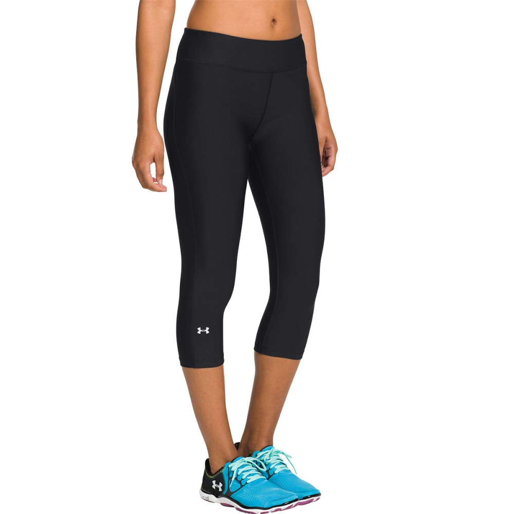 UNDER ARMOUR Women's HeatGear® Alpha Capris - BLACK