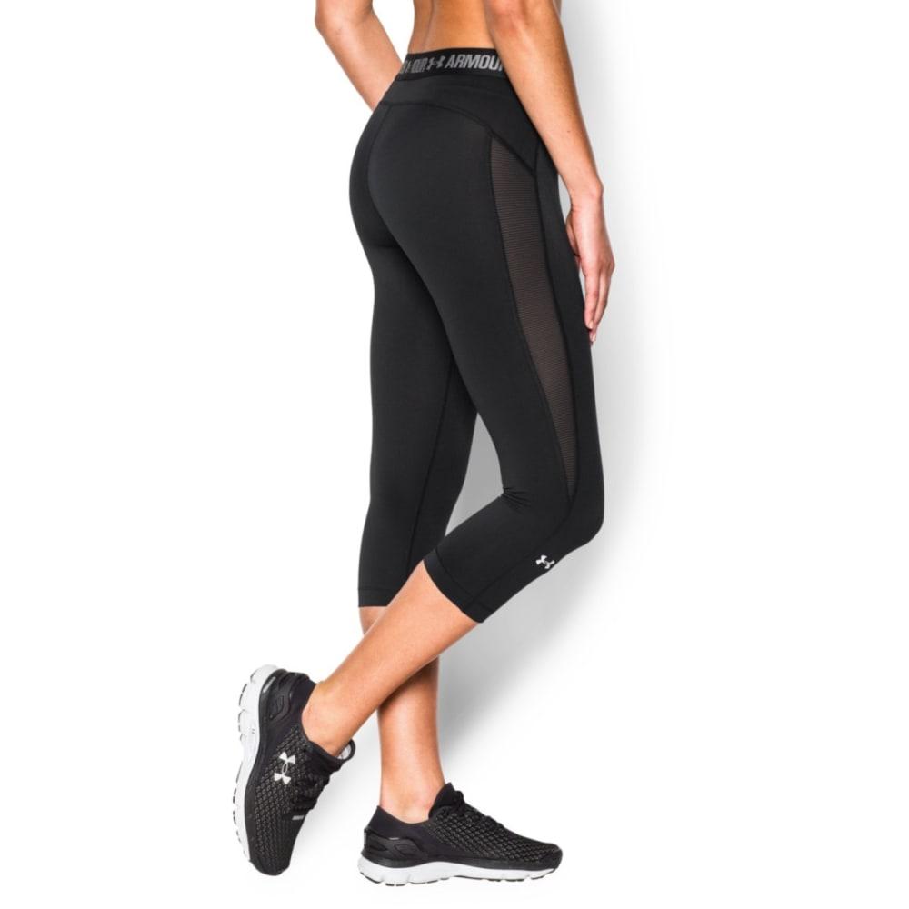 UNDER ARMOUR Women's HeatGear® CoolSwitch Capri Pants - BLACK