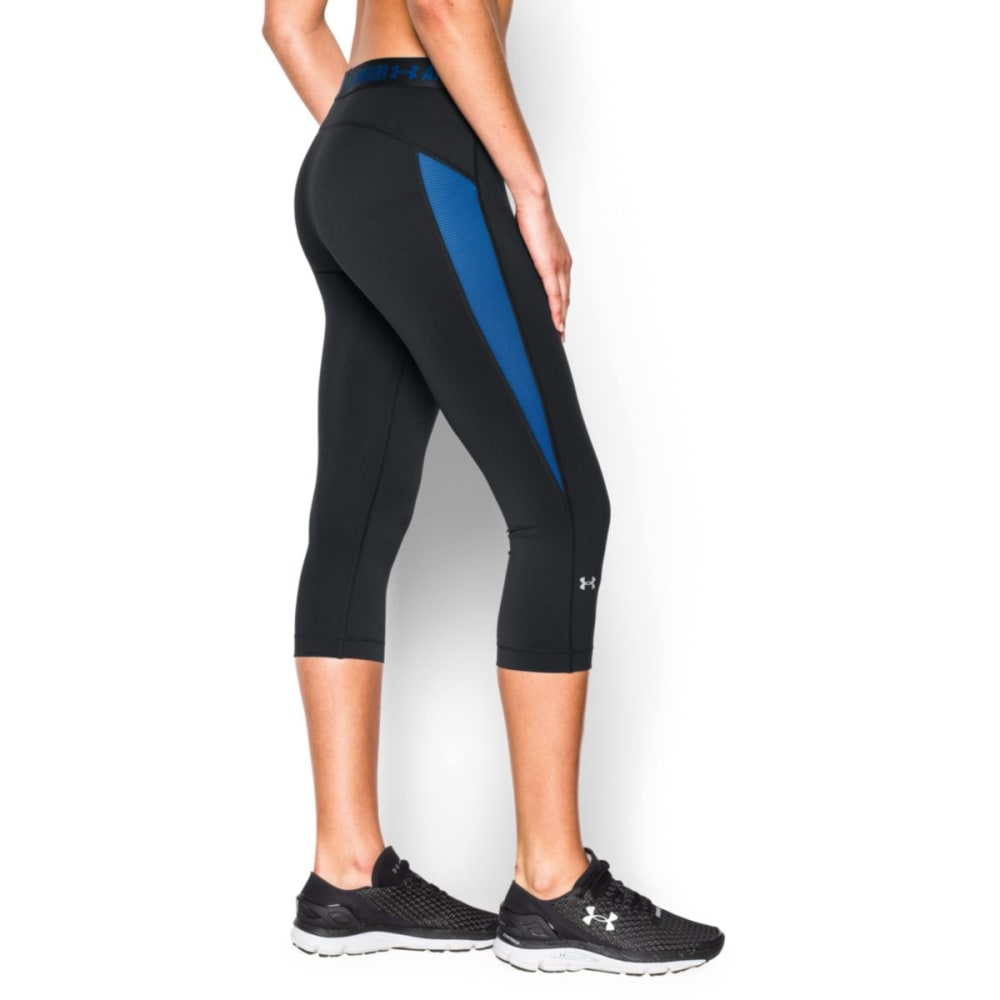 UNDER ARMOUR Women's HeatGear® CoolSwitch Capri Pants - GRAY