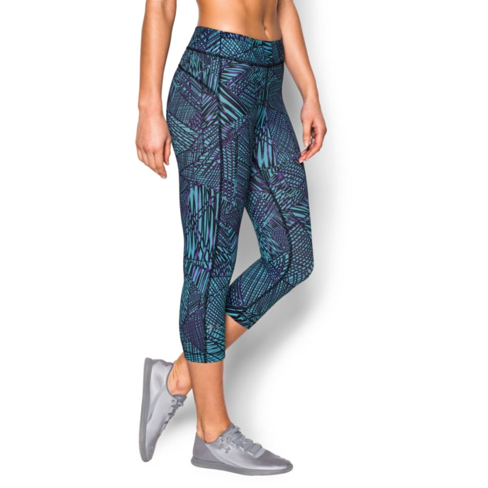 UNDER ARMOUR Women's HeatGear® Capri Pants - PATTERN