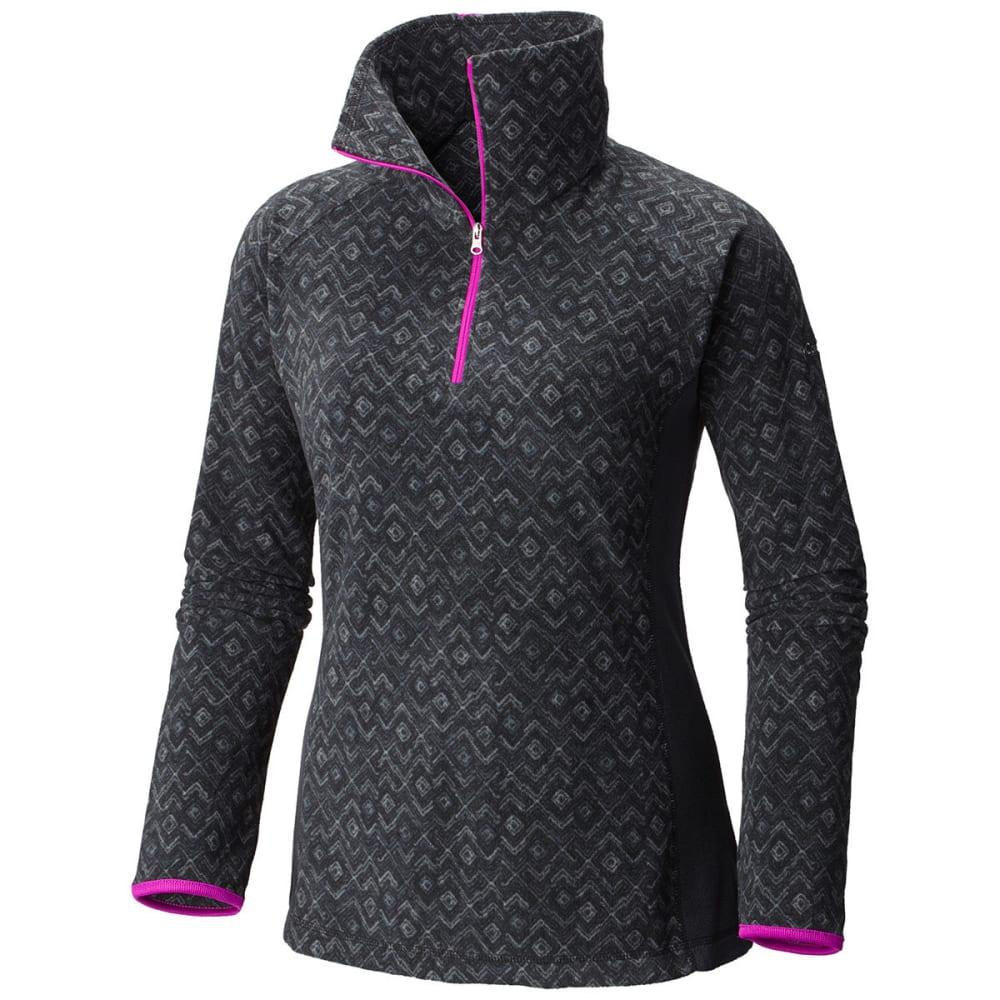 COLUMBIA Women's Glacial Fleece Pullover - -019 BLACK ZIGZAG