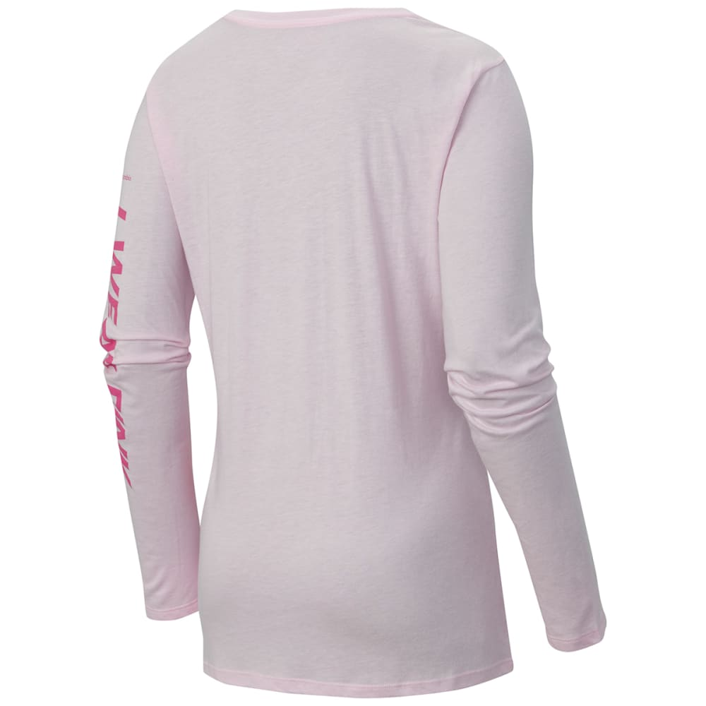 COLUMBIA Women's Tested Tough In Pink™ Long Sleeve Tee Shirt - PINK
