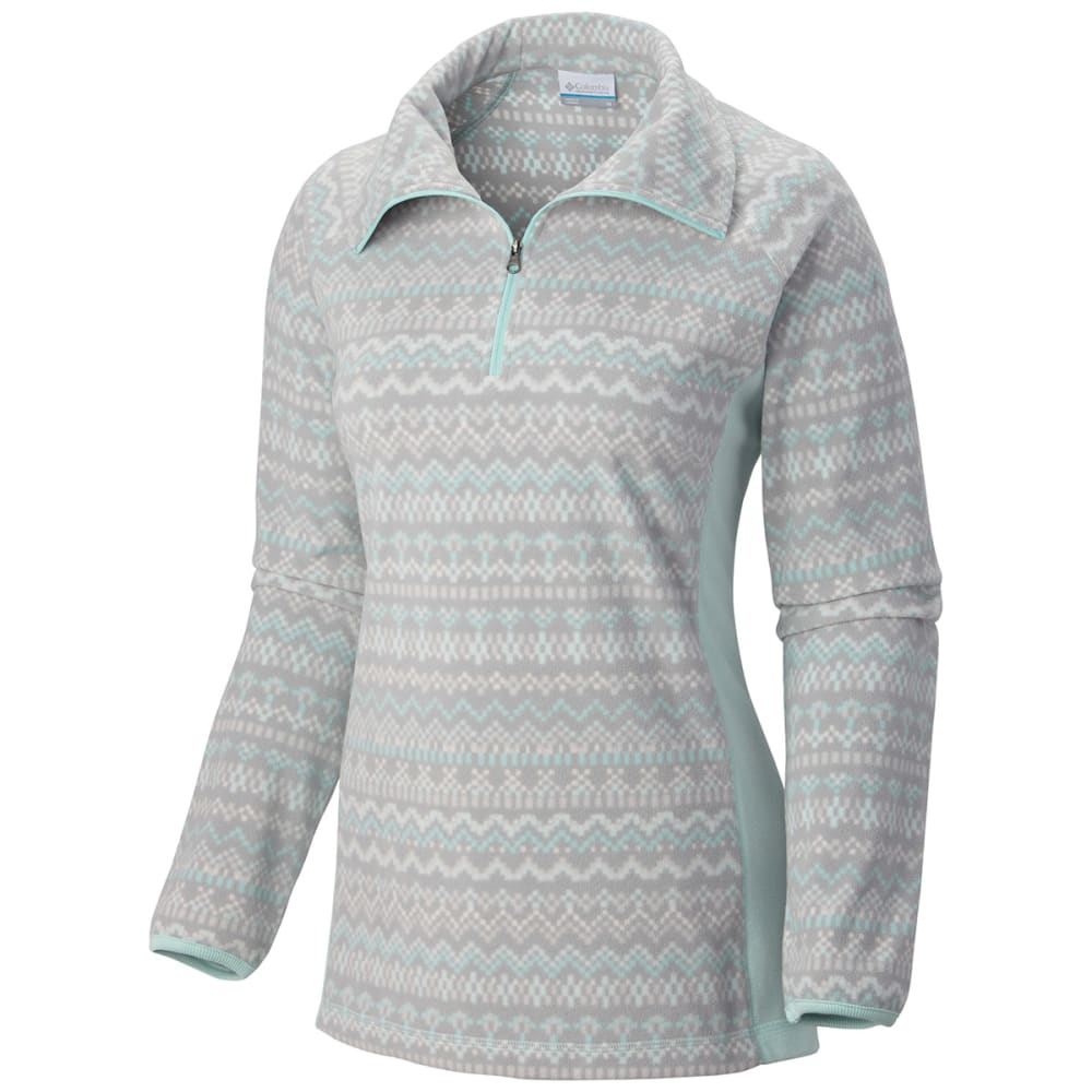 COLUMBIA Women's Glacial Fleece Pullover - BLUEGRASS