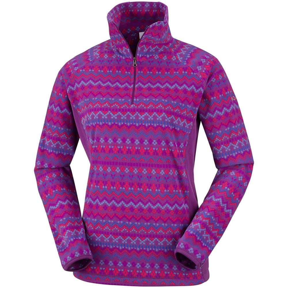 COLUMBIA Women's Glacial Fleece Pullover - PLUM