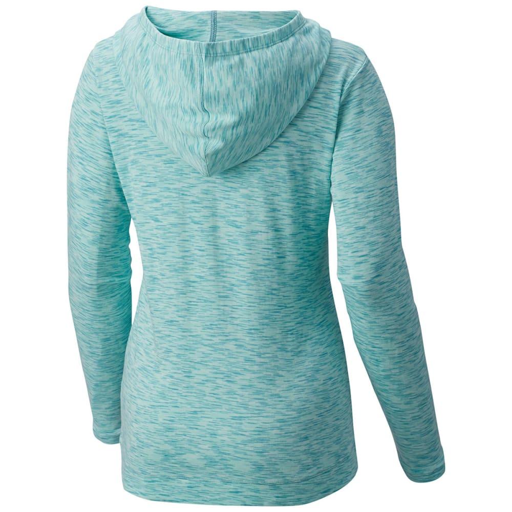 COLUMBIA Women's Outerspaced Knit Full-Zip Hoodie - 341-ICEBURG SPACEDYE