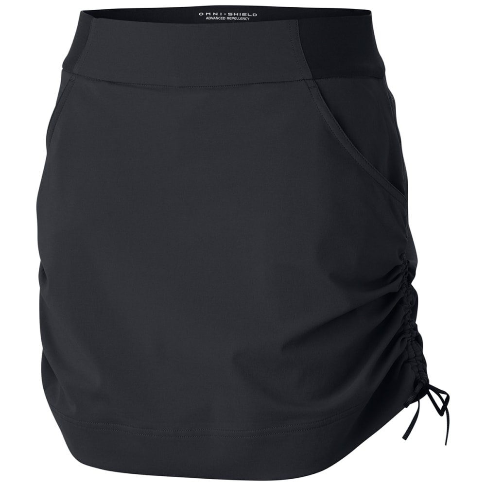 COLUMBIA Women's Anytime Casual Skort - 010-BLACK