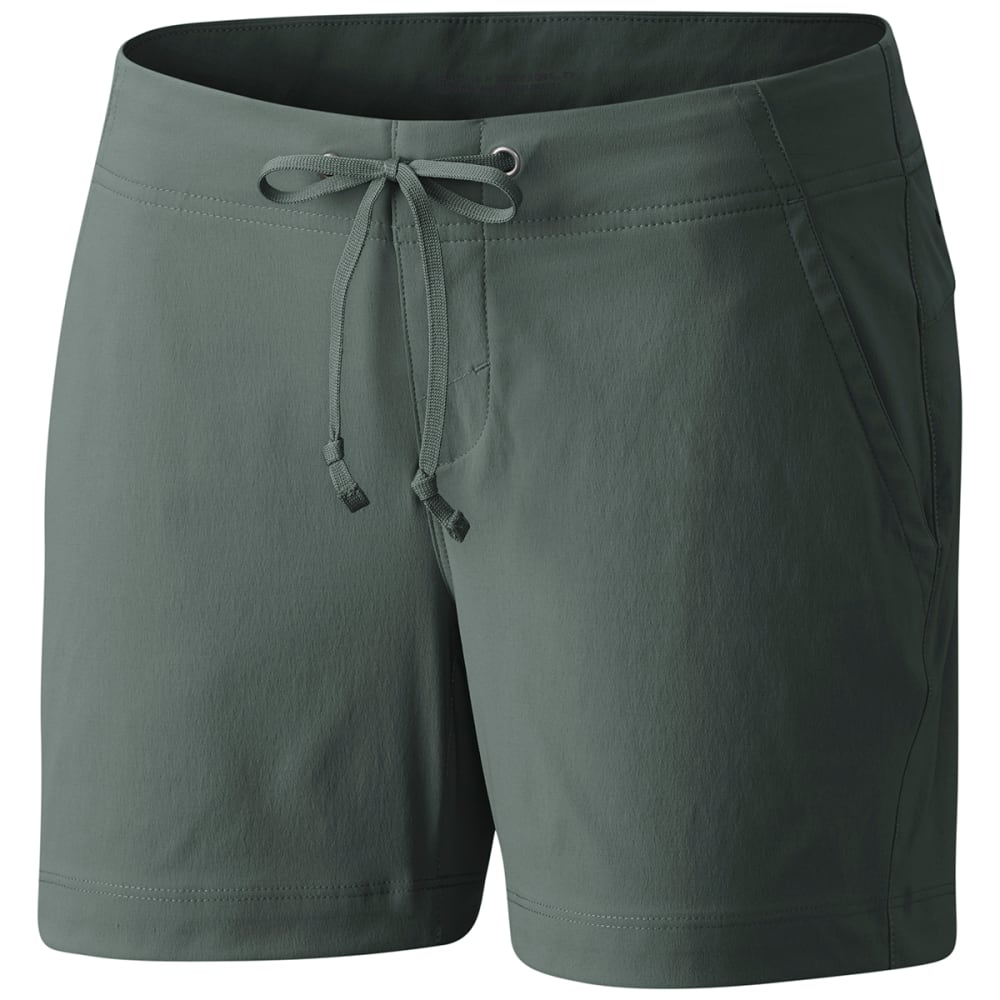 Columbia Women's Anytime Outdoor Shorts - Green, 6