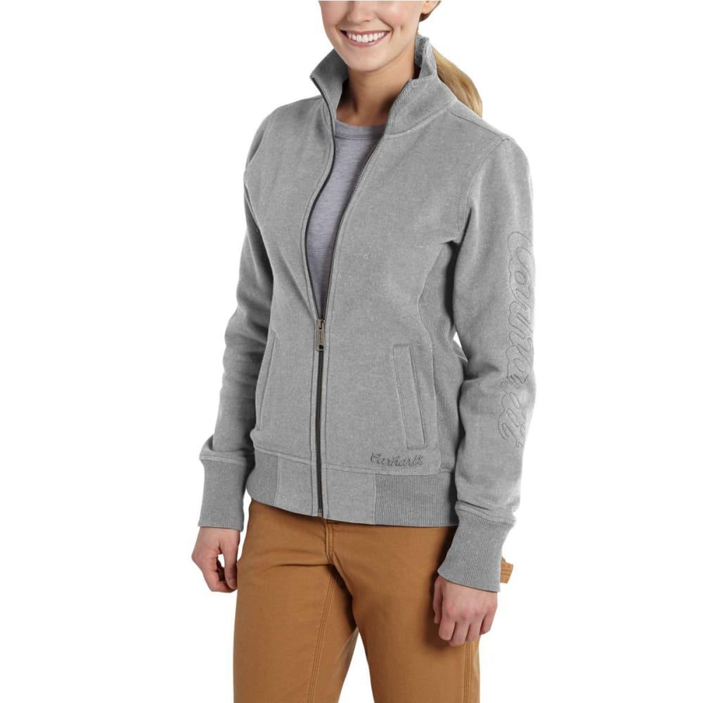 CARHARTT Women's Dunlow Sweatshirt - ASPHALT GRAY