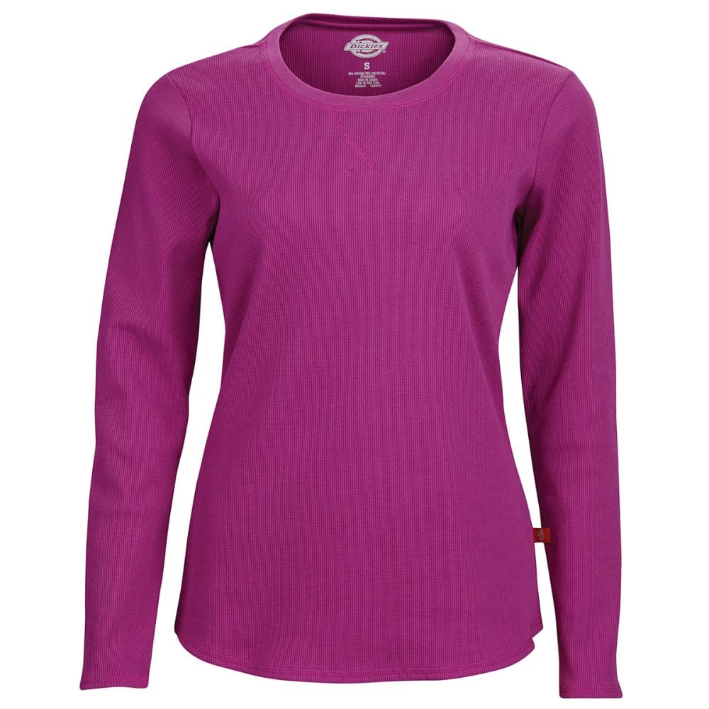 DICKES Women's Long Sleeve Thermal Top - PINK