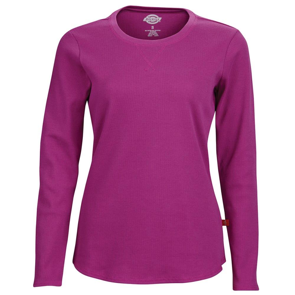 DICKES Women's Long Sleeve Thermal Top - PINK