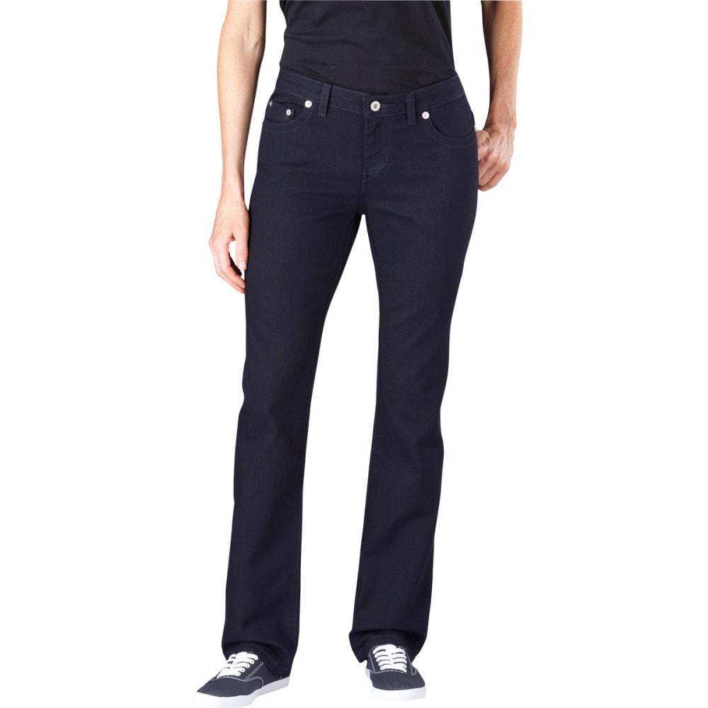 DICKIES Women's Slim Straight Leg Jeans - VINTAGE NAVY