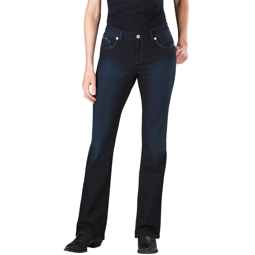 DICKIES Women's Slim Boot Cut Jeans - ANTIQUE DARK-ATD1