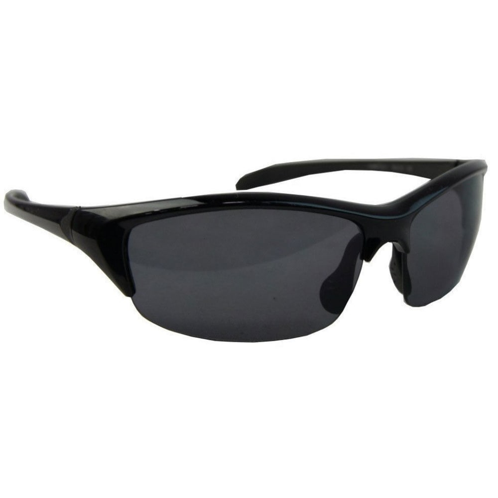SURF N SPORT Long Jump Square Wrap Sunglasses - BLACK 66332247