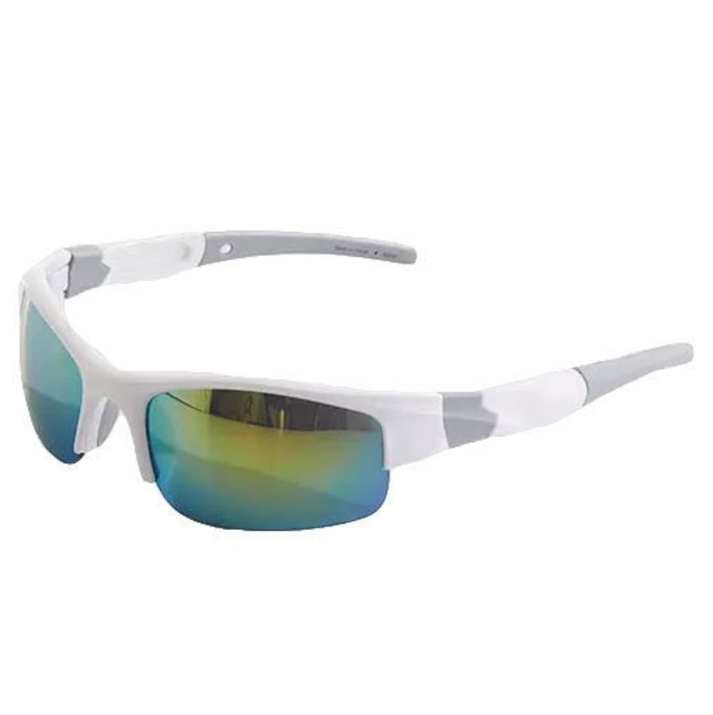 SURF N SPORT Long Jump Square Wrap Sunglasses - WHITE 66332248
