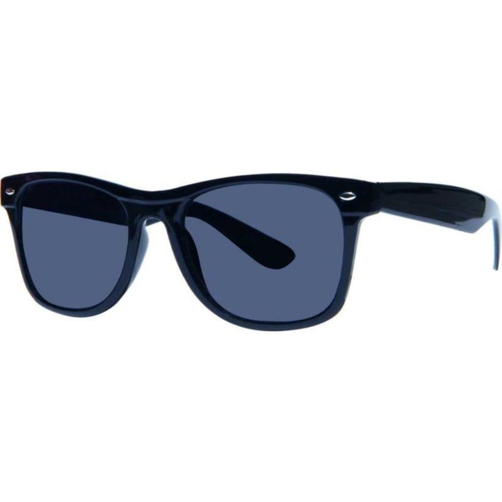 SURF N SPORT Mulberry Wayfarer Sunglasses, Black - BLACK