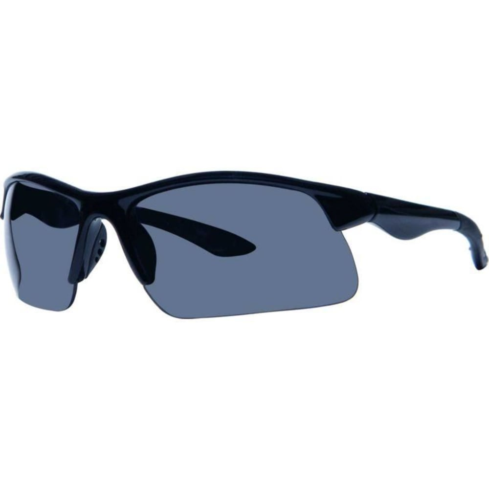 SURF N SPORT Silver Shield Sunglasses - BLK 66332250