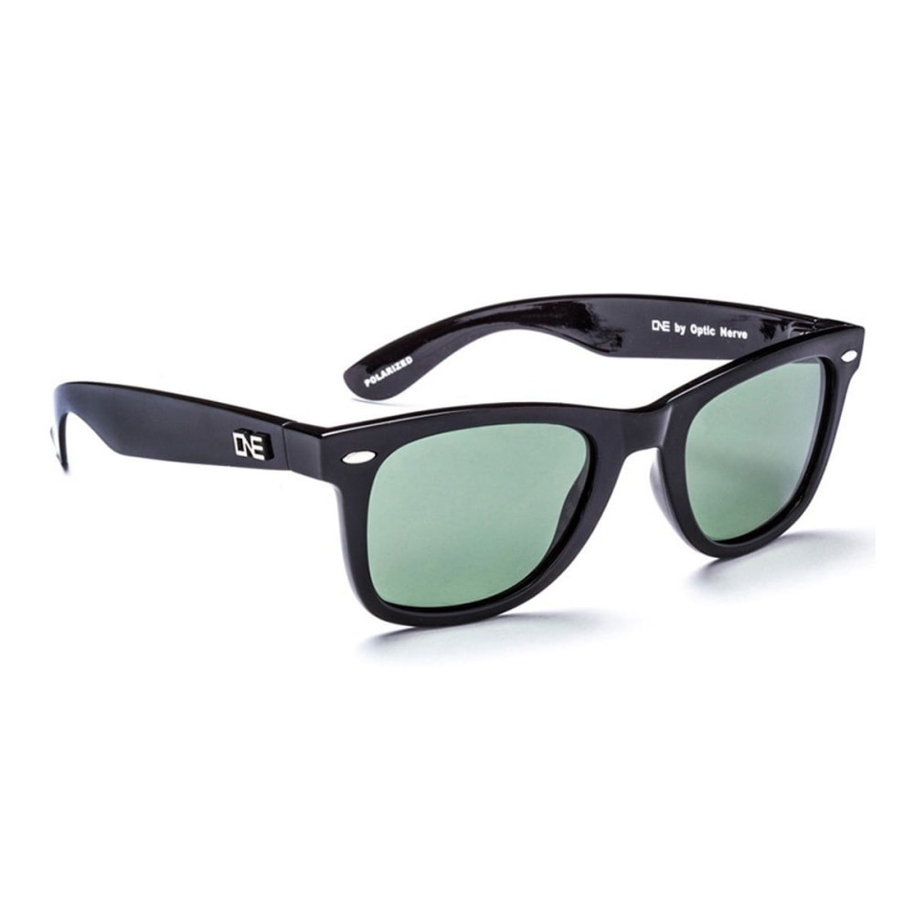 OPTIC NERVE ONE Dylan Sunglasses, Black/Gray - BLACK