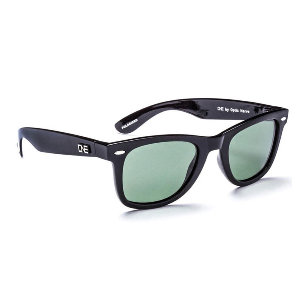 OPTIC NERVE ONE Dylan Sunglasses, Black/Gray - BLACK