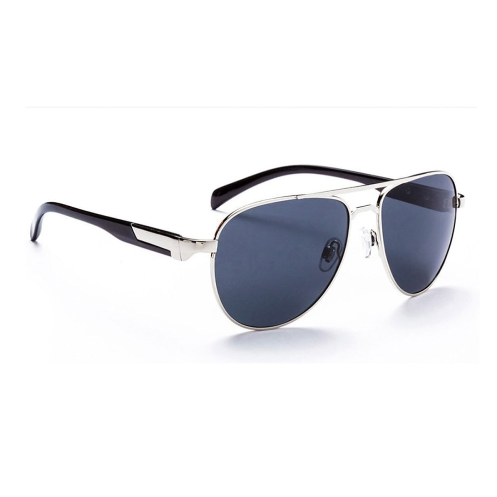 OPTIC NERVE ONE Cadet Sunglasses, Gunmetal/Smoke - GREY/PINK