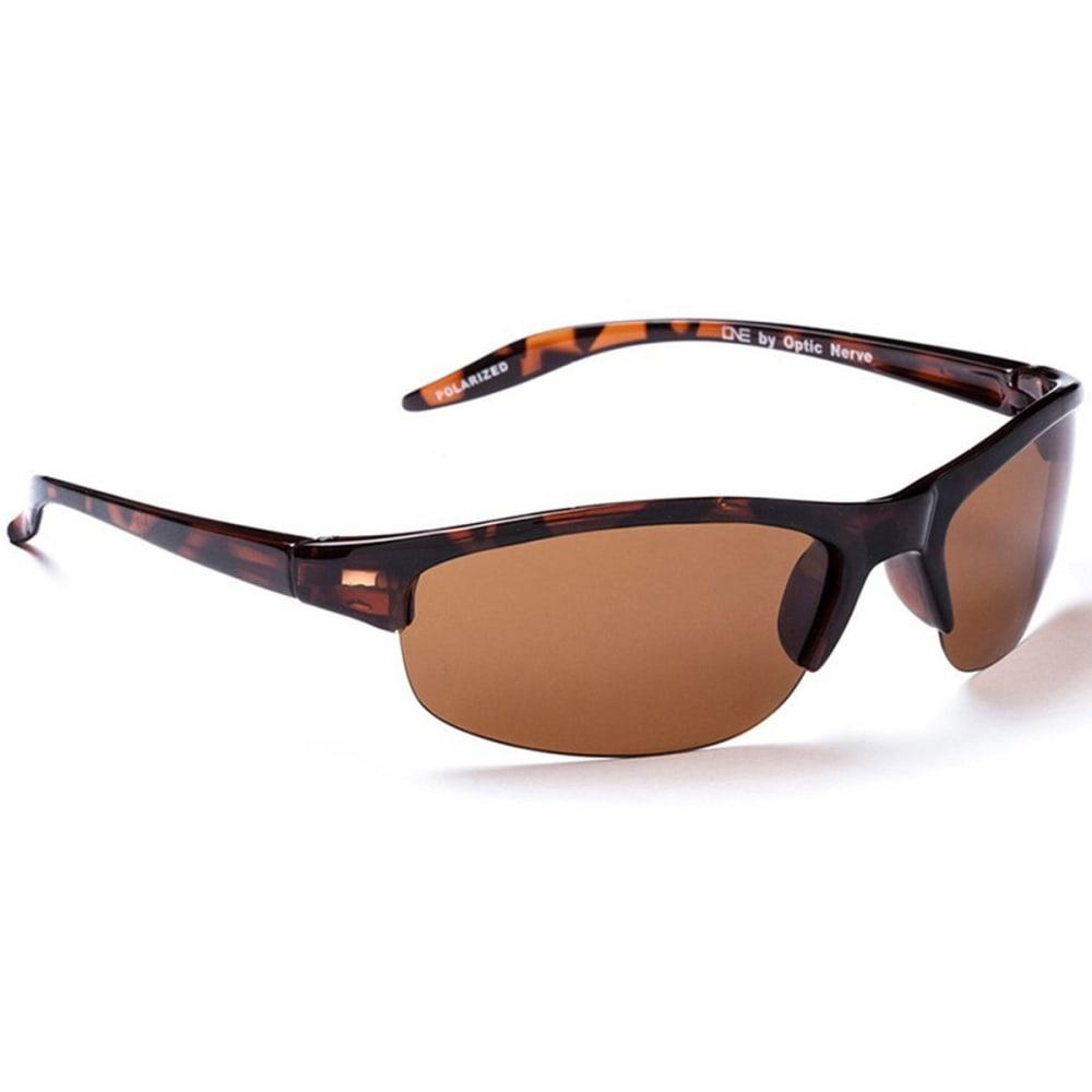 OPTIC NERVE ONE Alpine Sunglasses, Demitasse/Brown ONE SIZE