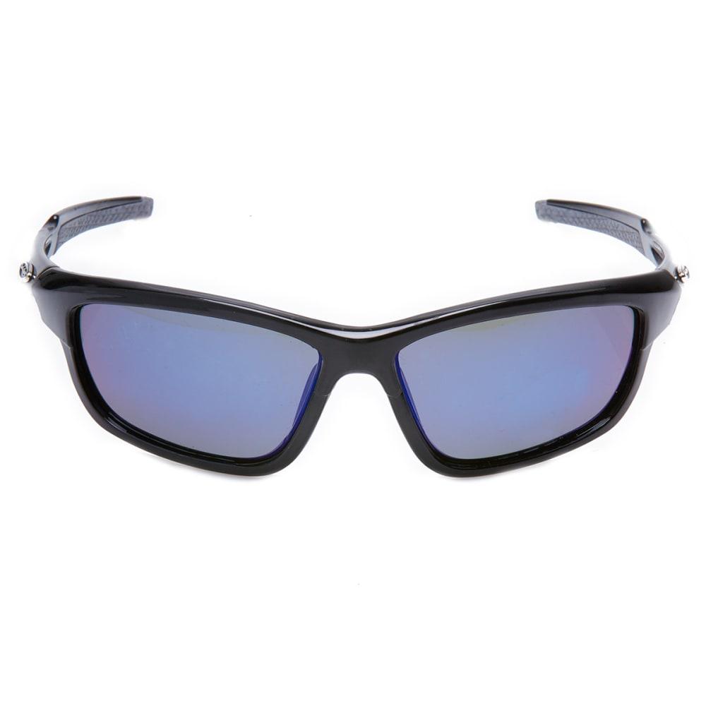 OUTLOOK EYEWEAR Athletics Polarized Sunglasses - BLACK