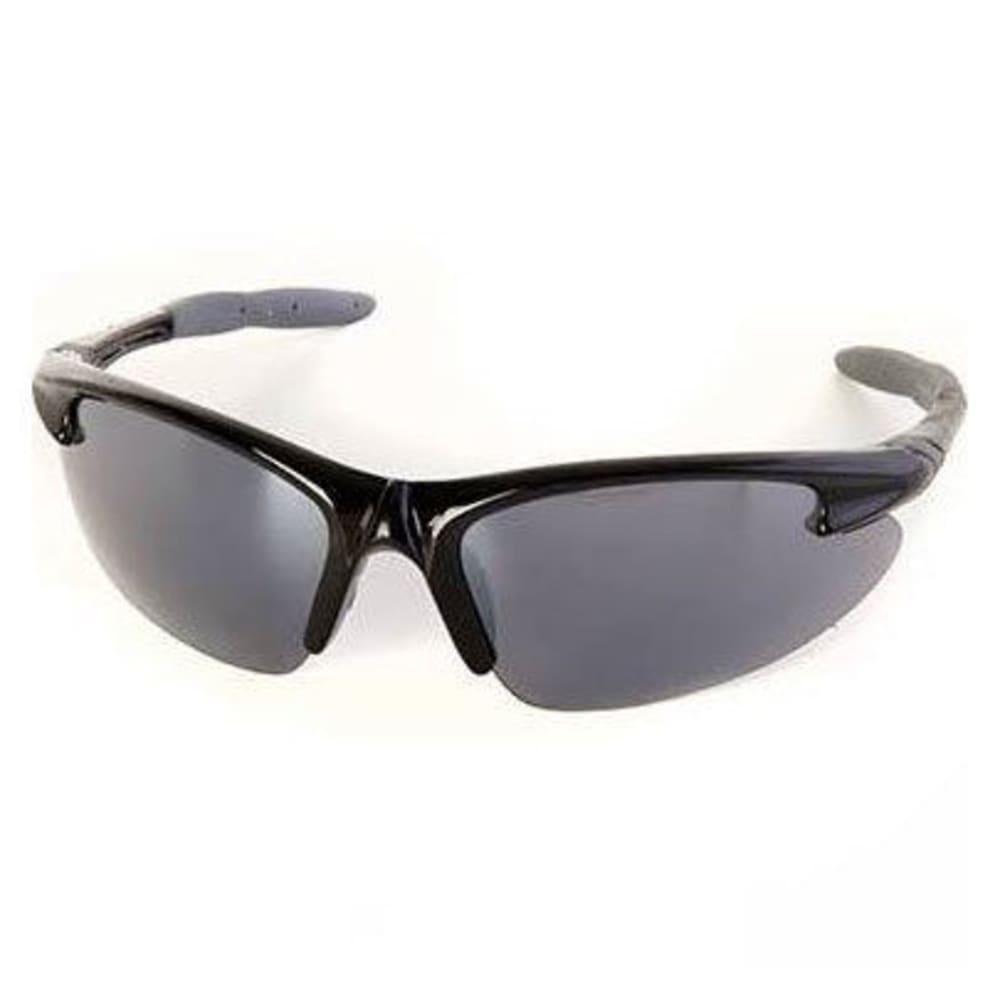 SURF N SPORT Barrel Shield Sunglasses, Black/Grey - BLK/GRY 66332262