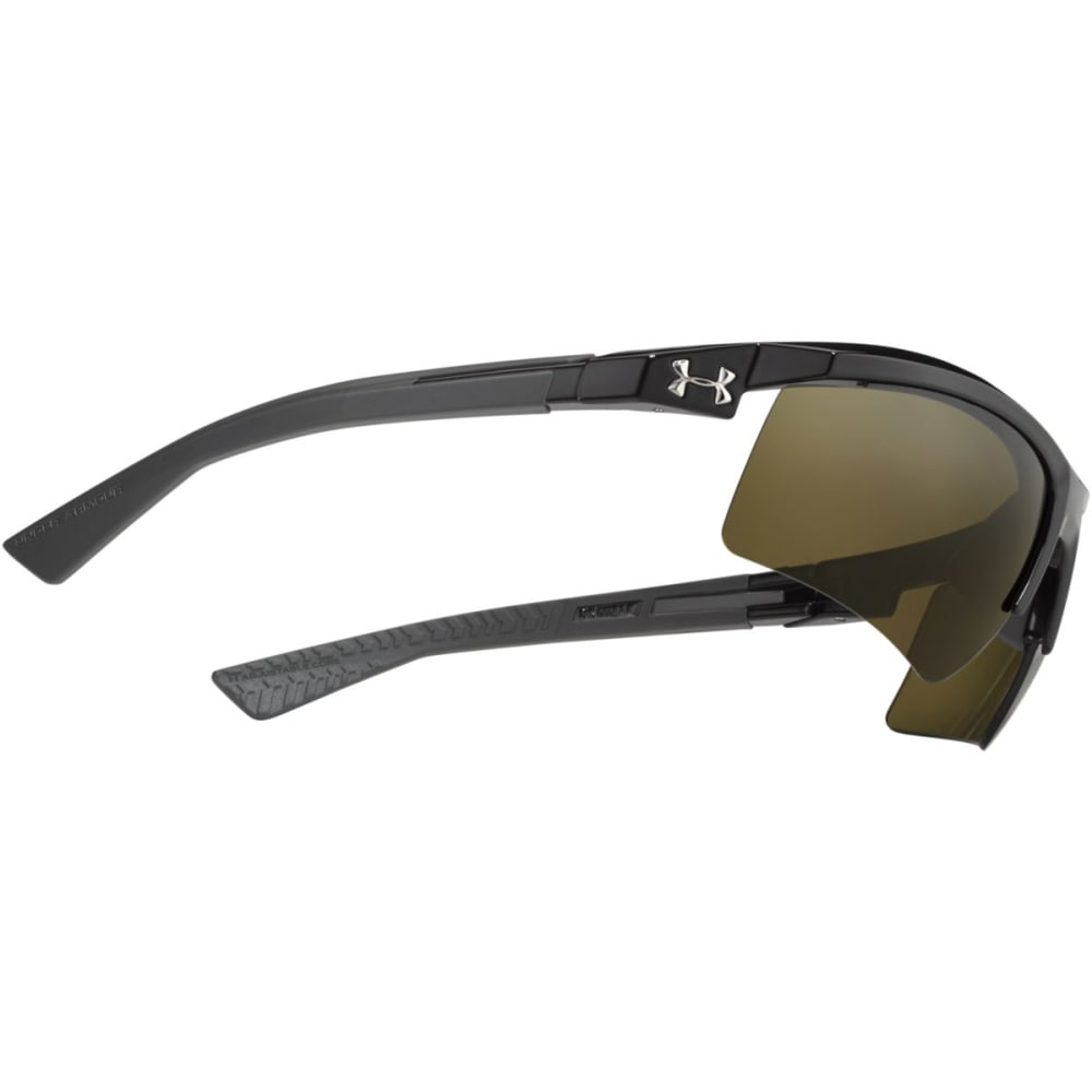 UNDER ARMOUR UA Core 2.0 Sunglasses, Shiny Black/Charcoal/Game Day - ASSORTED