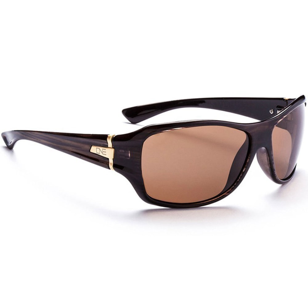 OPTIC NERVE ONE Women's Athena Sunglasses, Drift/Brown - BROWN