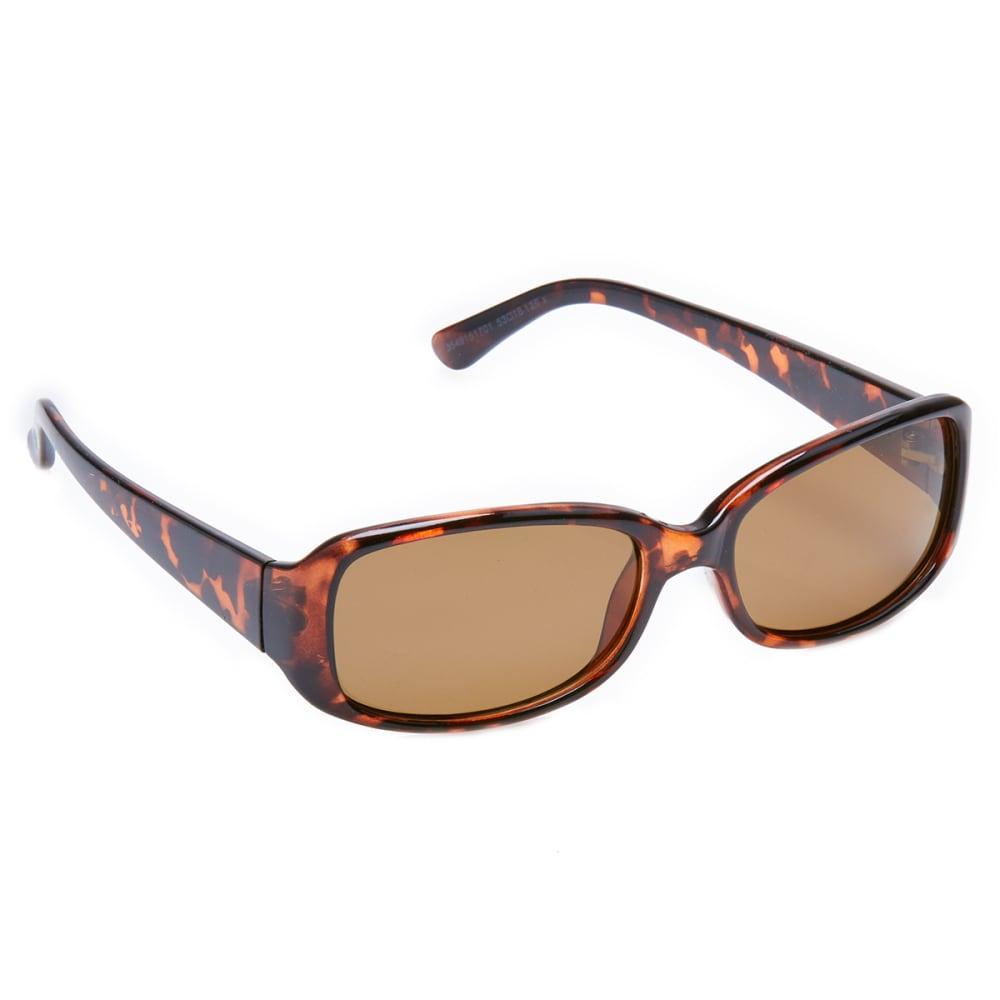 OUTLOOK EYEWEAR Women's Tulip Polarized Sunglasses - SMY BRN/OL 66352951