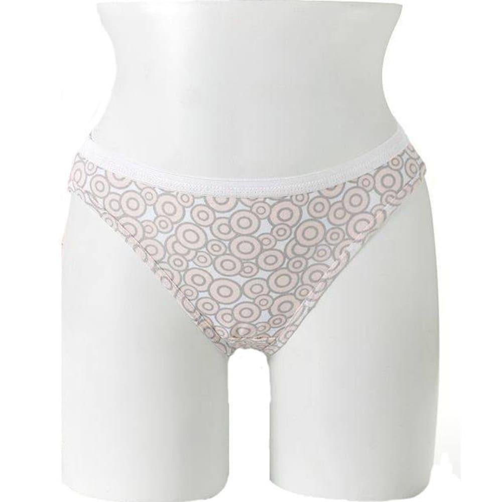HANES Women's Ultimate Cotton Comfort Bikini 4 Pack Panties 5