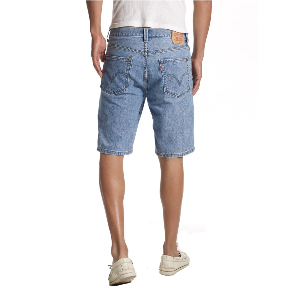 LEVI'S Young Men's 505 Regular Fit Denim Shorts - LT STONEWASH-2110