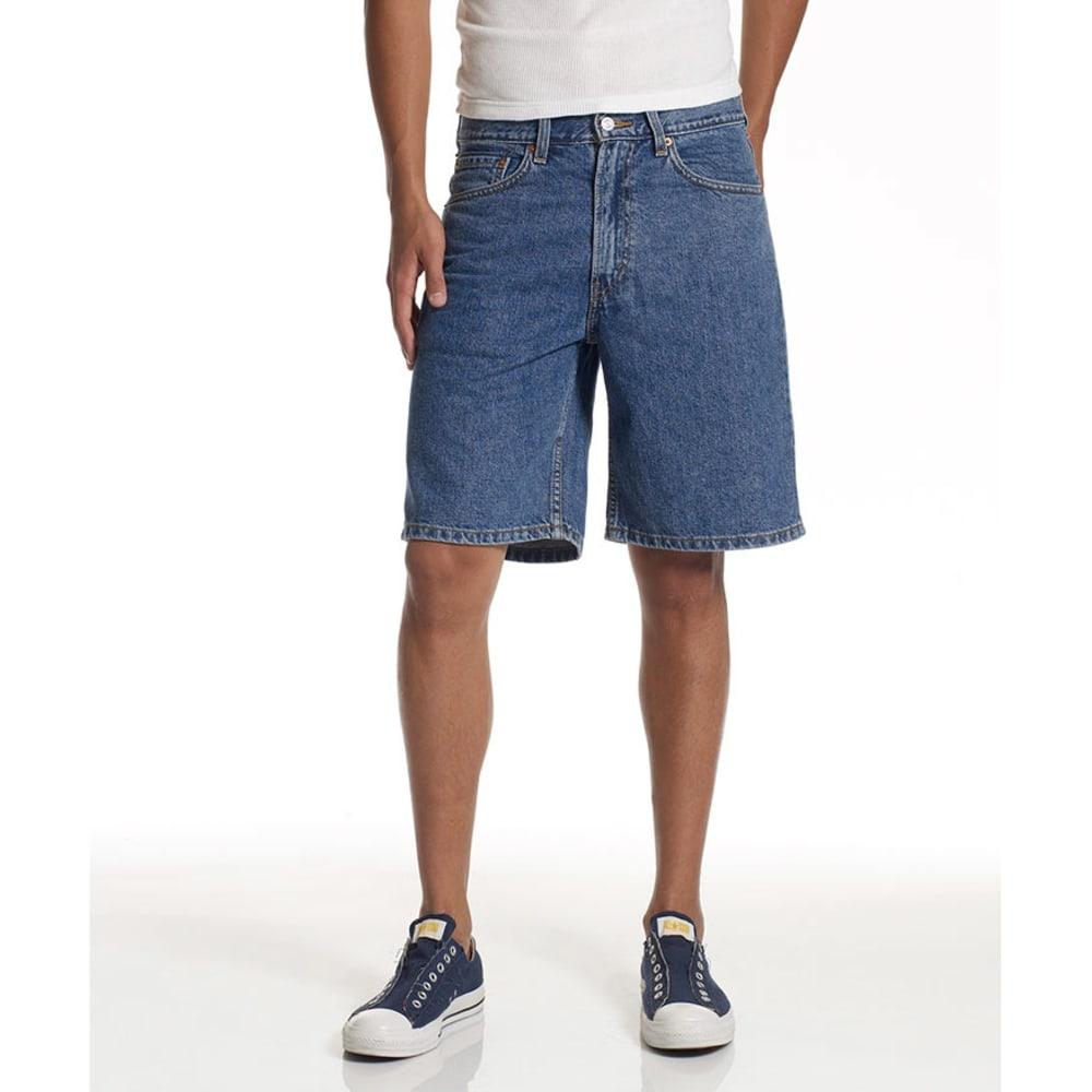 LEVIS Young Men's 550 Relaxed Fit Denim Shorts  - VALUE DEAL - MEDIUM STONEWASH