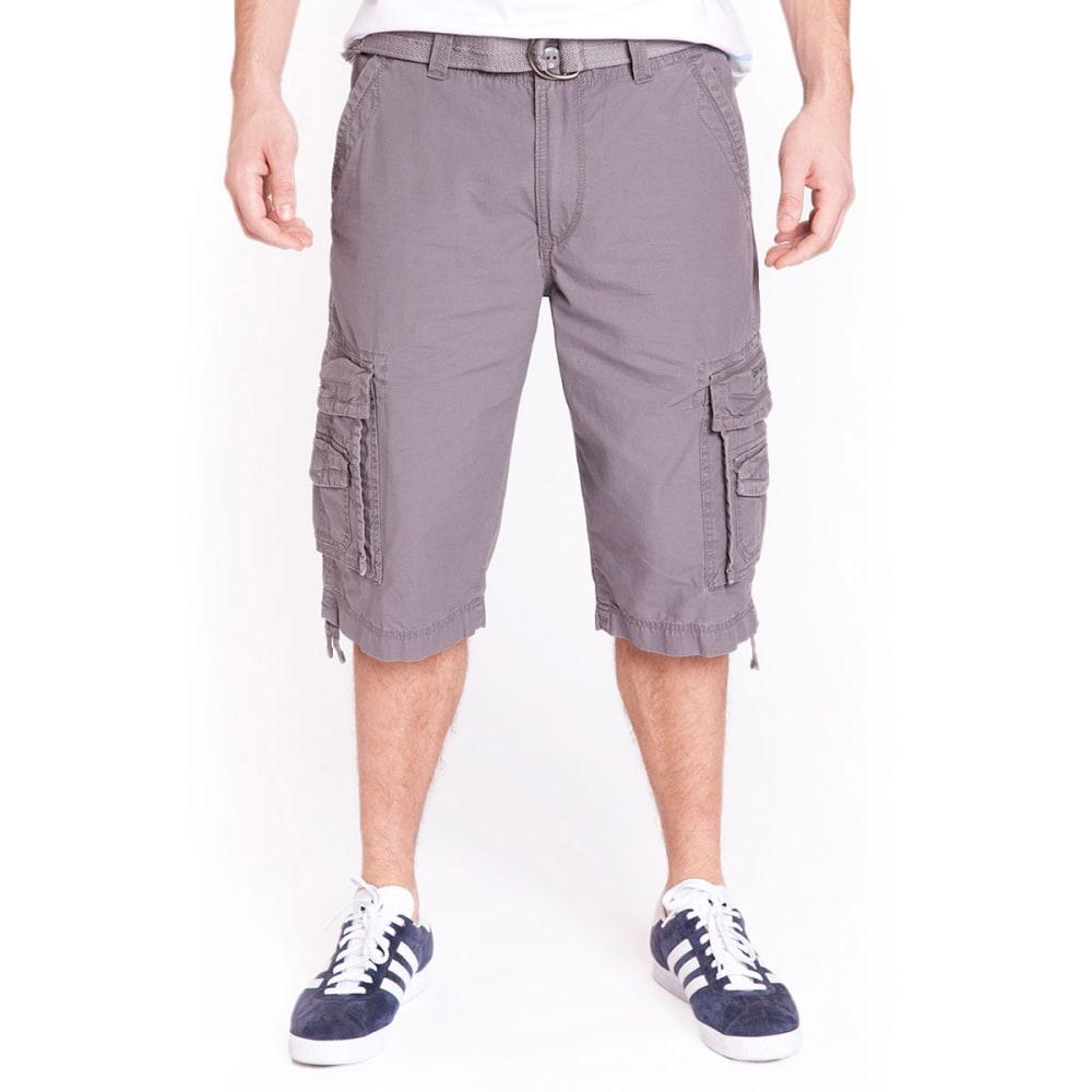 UNIONBAY Men's Messanger Twill Cargo Shorts - FLINT-254Y