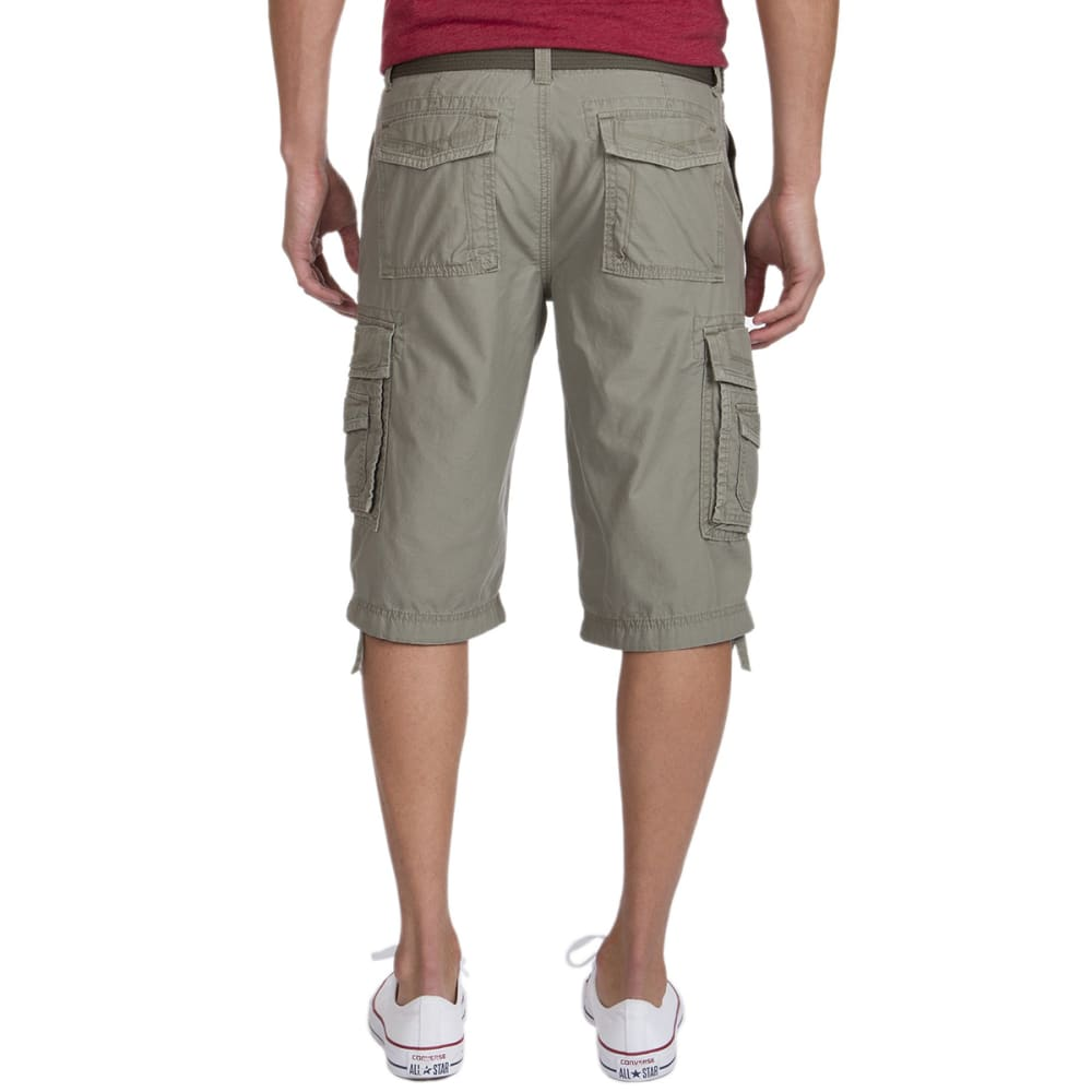 UNIONBAY Men's Messanger Twill Cargo Shorts - TAUPE GREEN-084Y