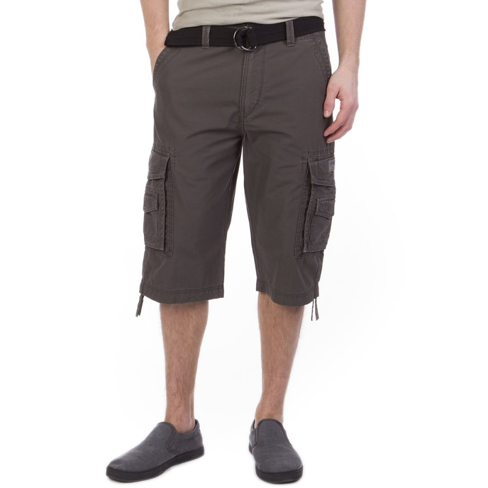 UNIONBAY Men's Cordova Messenger Cargo Shorts - FLINT