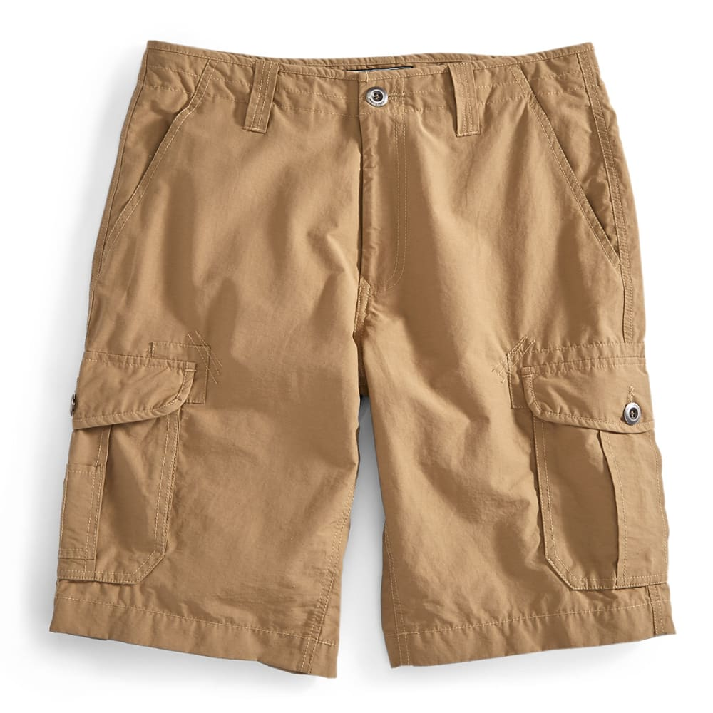 OCEAN CURRENT Guys' Re-Do Cargo Shorts - DARK KHAKI