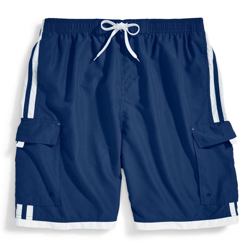 BURNSIDE Men's Impersonator Swim Shorts S