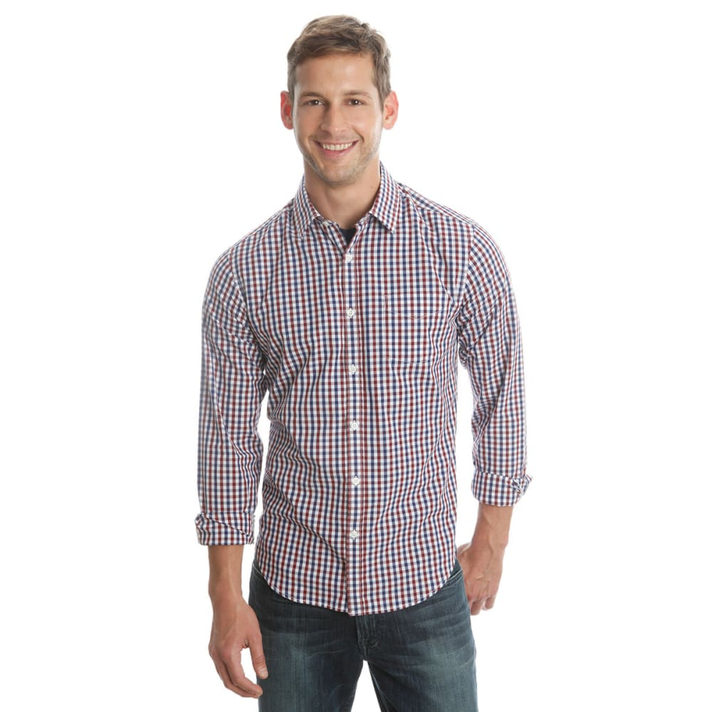 LUCKY BRAND Men's Palisades Plaid Shirt - WHITE