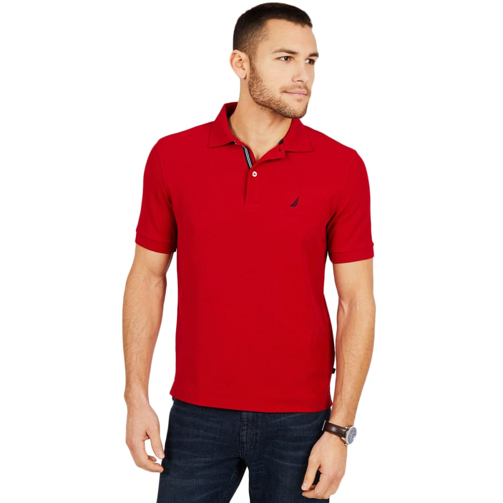 NAUTICA Men's Extra Soft Polo Shirt M