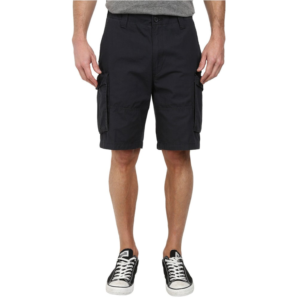 Nautica Men's Ripstop Cargo Shorts - Black, 30