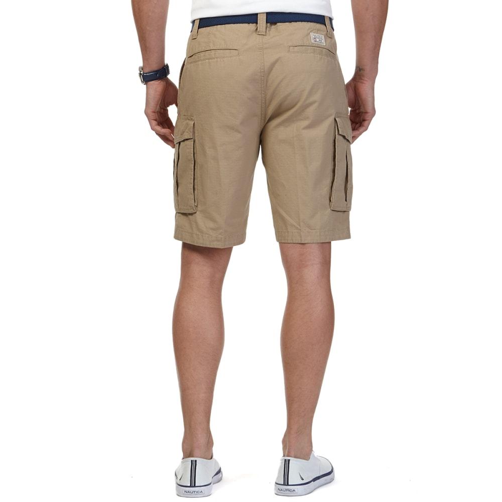 NAUTICA Men's Ripstop Cargo Shorts - TUSCANY TAN 2TT