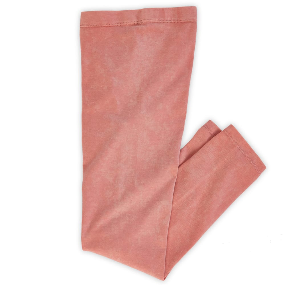 POOF Girls' Snow Washed Jeggings - CORAL
