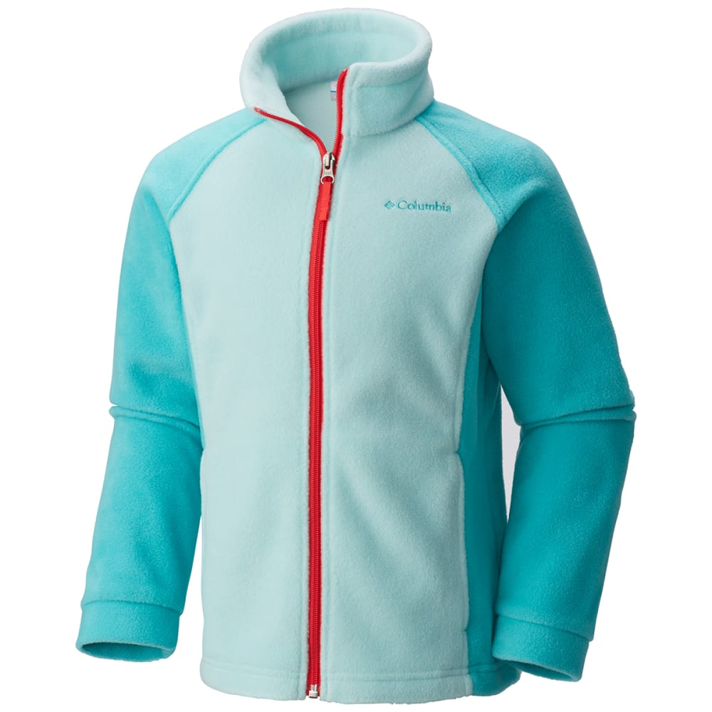 COLUMBIA Girls' Benton Springs Fleece - 325-SPRAY / MIAMI