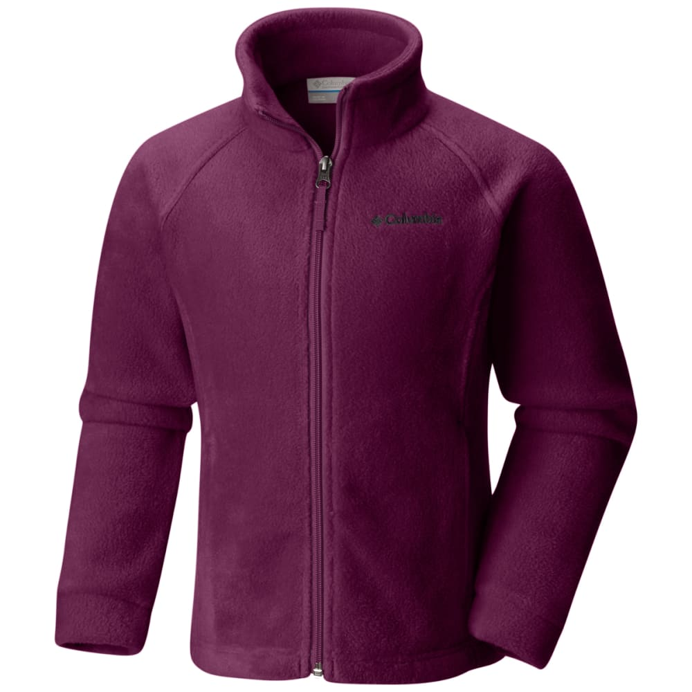 Columbia Girls Benton Springs Fleece - Red, L