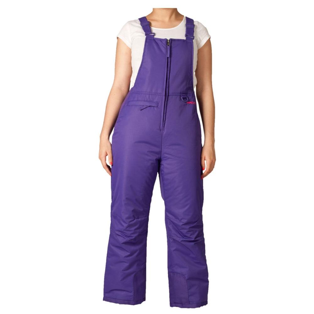 Arctix Girls Classic Snow Bib - Purple, S